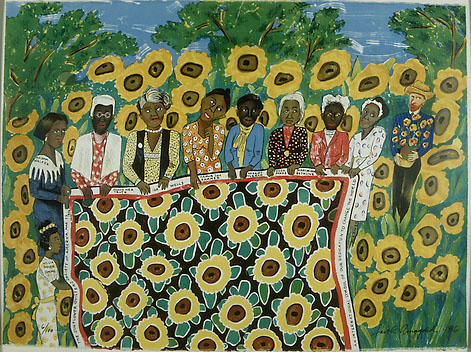 the sunflower quilting bee at arles Become a member of a living tradition explore america's artistic heritage and the achievements of its greatest artists for an entire year without paying admission.