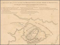 A sketch of the action between the British forces and the American provincials…